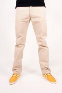 Spodnie bawełna jasny beż